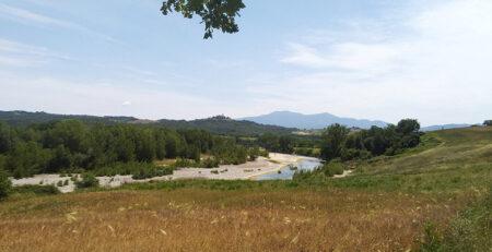 Escursione a Monte ANtico - vicino al fiume ombrone _ tenuta di Paganico