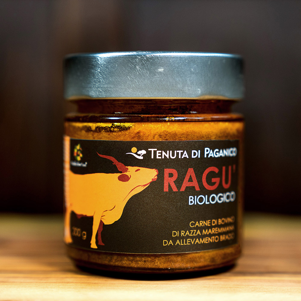 regu biologico di bovino di razza maremmana - Tenuta di Paganico
