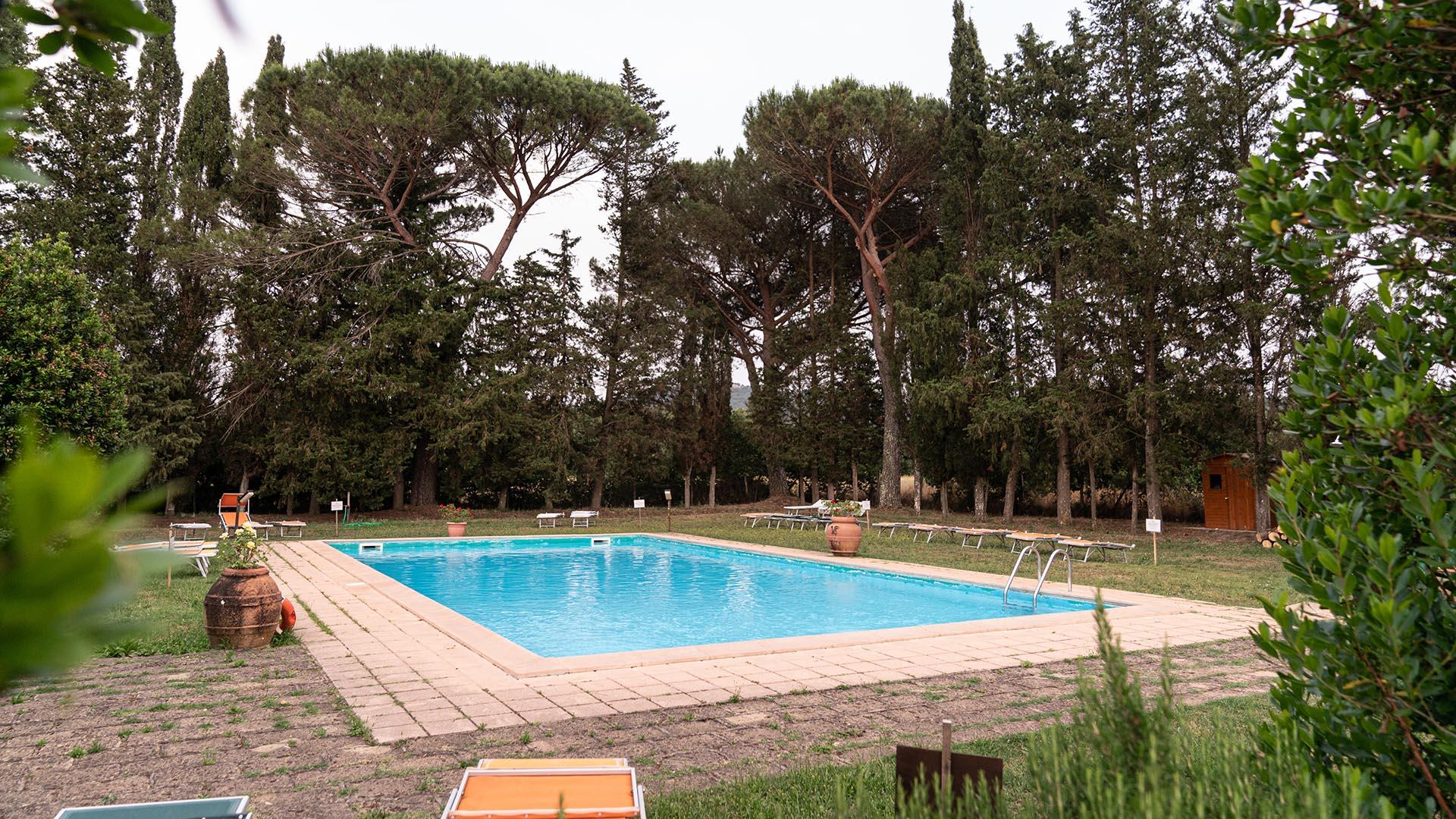 Agriturismo I Roggeti - Tenuta di Paganico - piscina - pool esterni